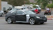 Hyundai RWD Sports Coupe spy photos