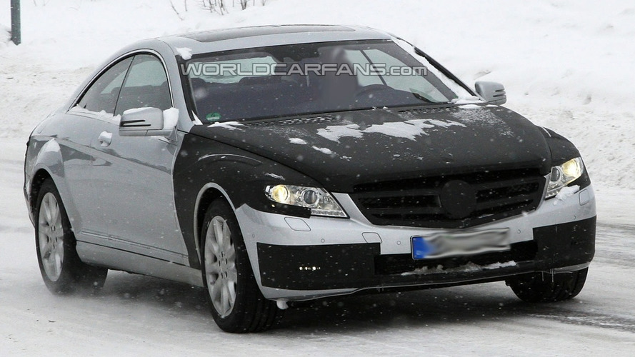 Mercedes S-Class Coupe Spied for First Time on Video