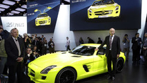 Mercedes SLS AMG E-Cell at 2011 NAIAS