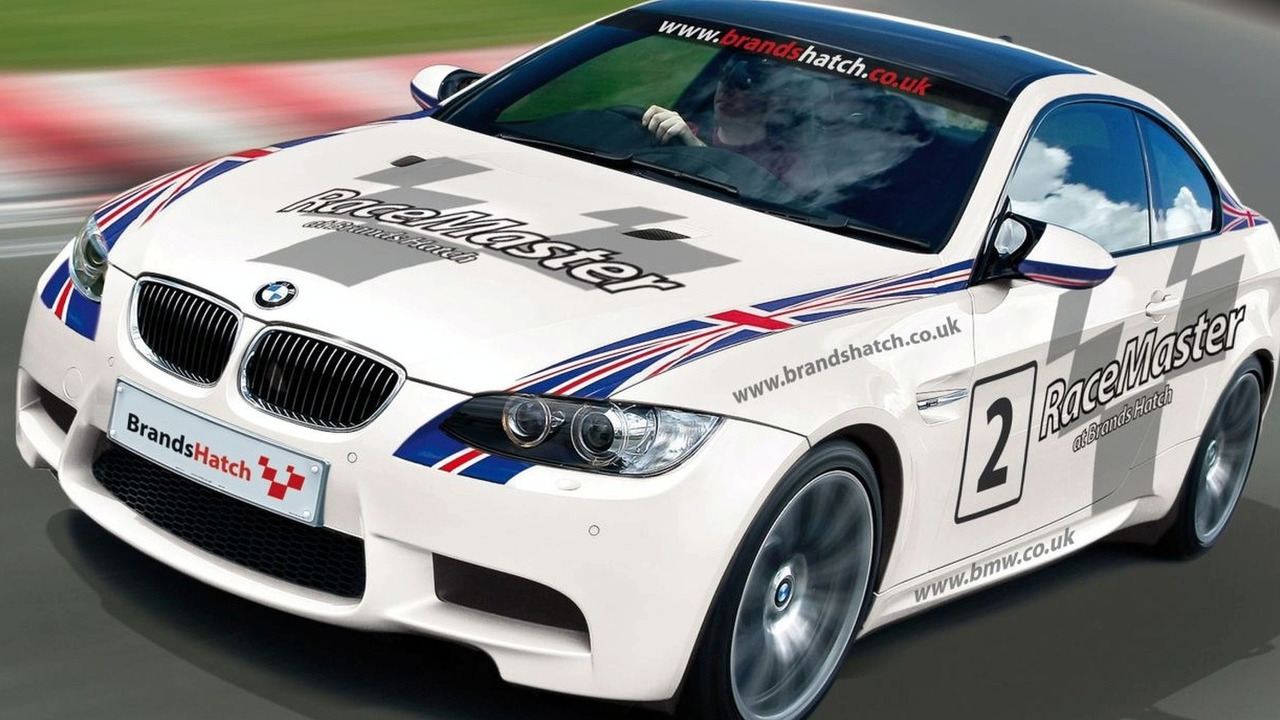 BMW M3 in MotorSport Vision Driving Experiences