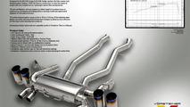 Vorsteiner titanium exhaust system for BMW M3