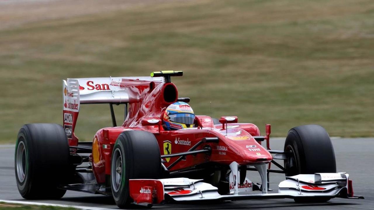 Fernando Alonso (ESP), Scuderia Ferrari - Formula 1 World Championship, Rd 10, British Grand Prix