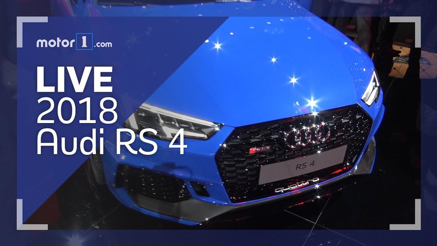 2018 Audi RS4 and R8 V10 RWS Live Look