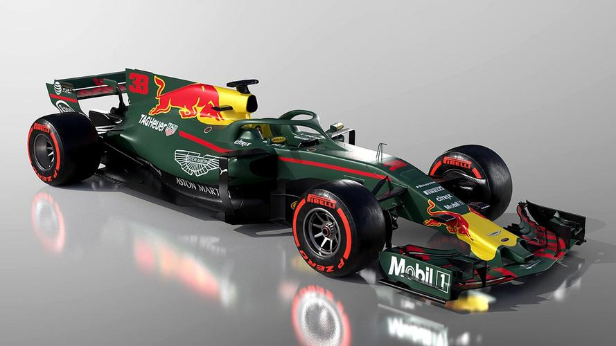 3D video: How the 2018 Aston Martin Red Bull F1 car could look