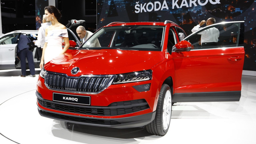Skoda Karoq Shows Off Digital Instrument Cluster At IAA
