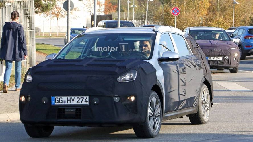 Kia Niro EV spy photos