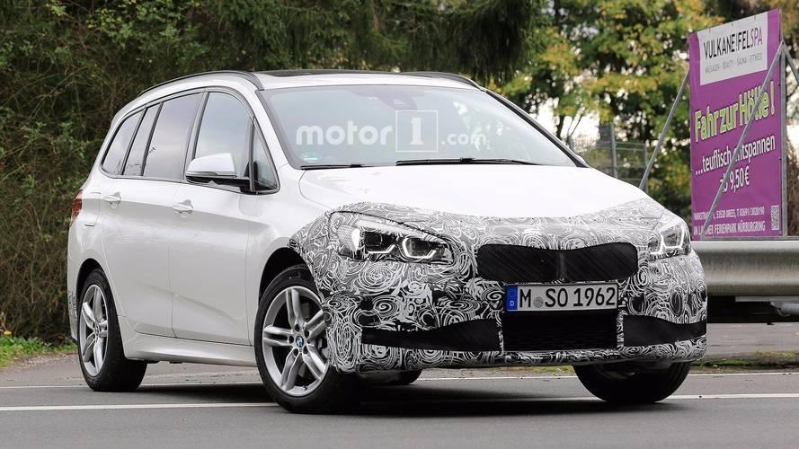 La BMW Série 2 Gran Tourer restylée surprise en cours d'essais