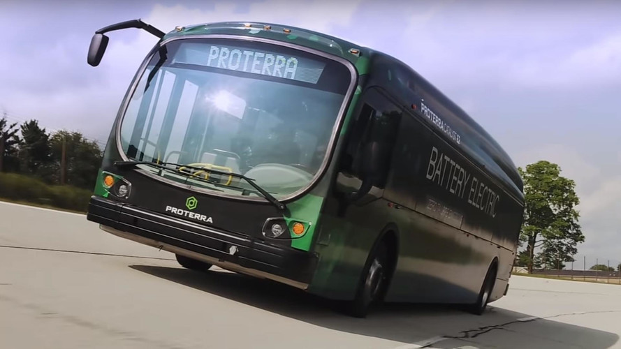 Proterra Electric Bus Sets Range Record At 1,100 Miles