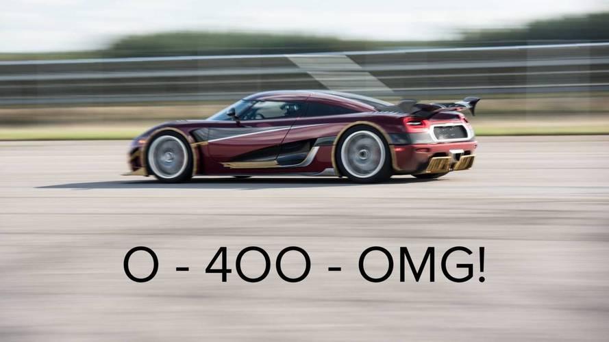 Koenigsegg Hints Bugatti Chiron's 0-249-0 MPH Record Is In Danger