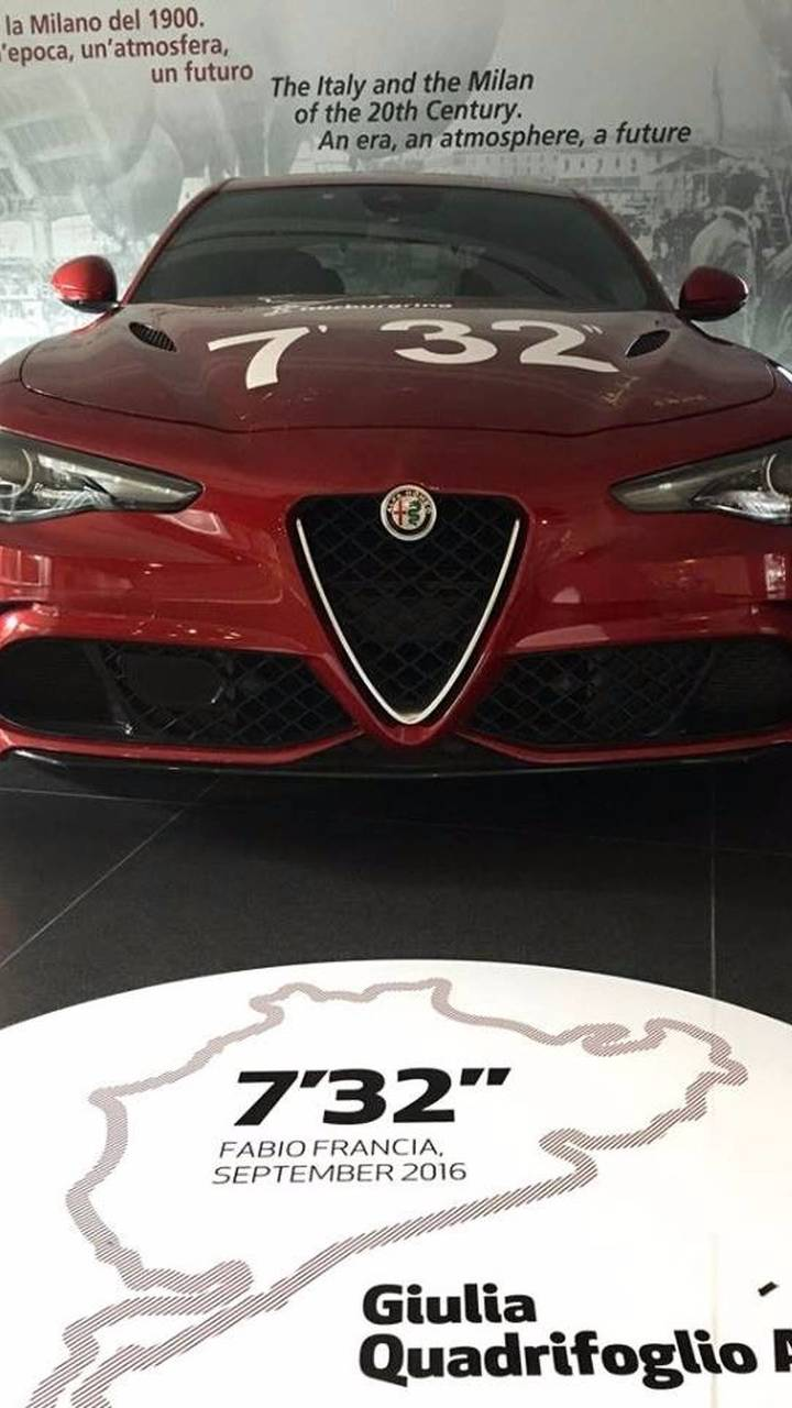 Alfa Romeo exposition Nürburgring