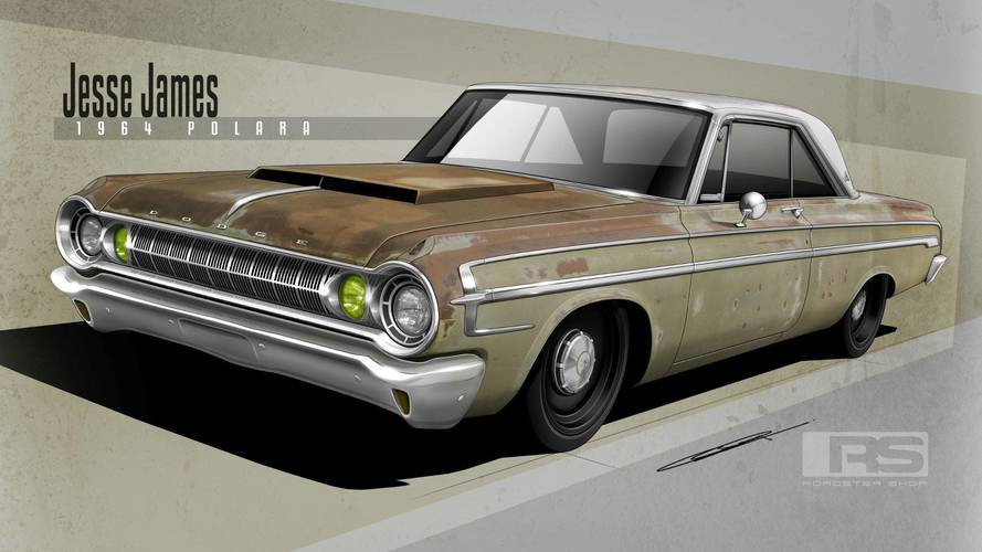 1964 Dodge Polara Rat Rod Hides Biturbo Hemi Underneath Its Rust
