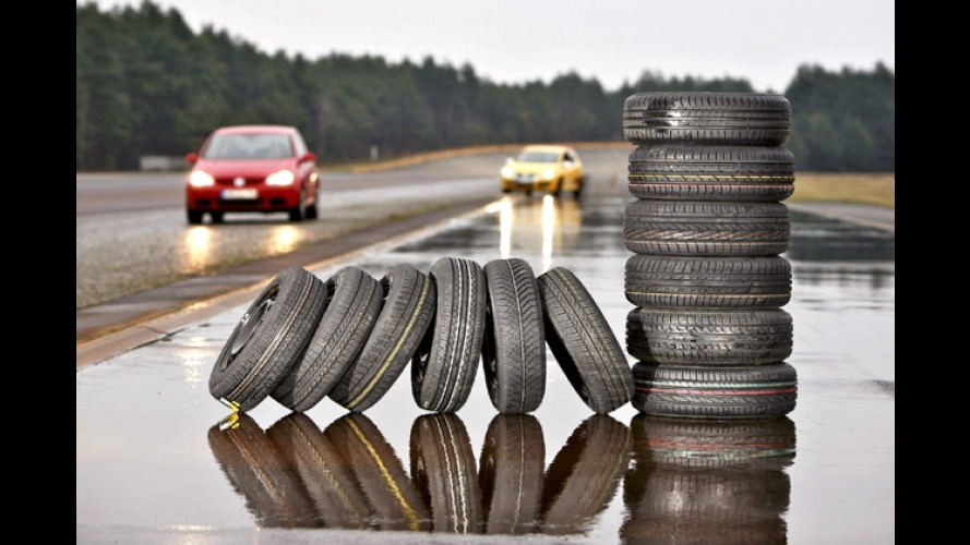 Reifentest: Geringer Verbrauch zu Lasten der Sicherheit?