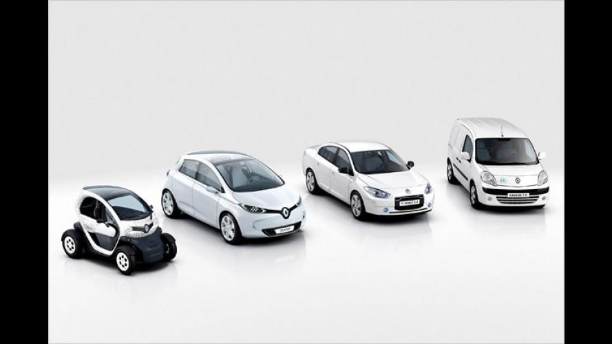 Renault baut Elektroautos in Großserie