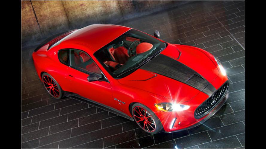 Maserati GranTurismo: Mansory schleudert den Dreizack