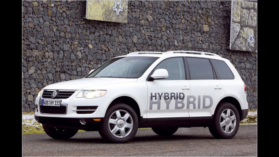 Als Prototyp schon gefahren: VW Touareg V6 TSI Hybrid