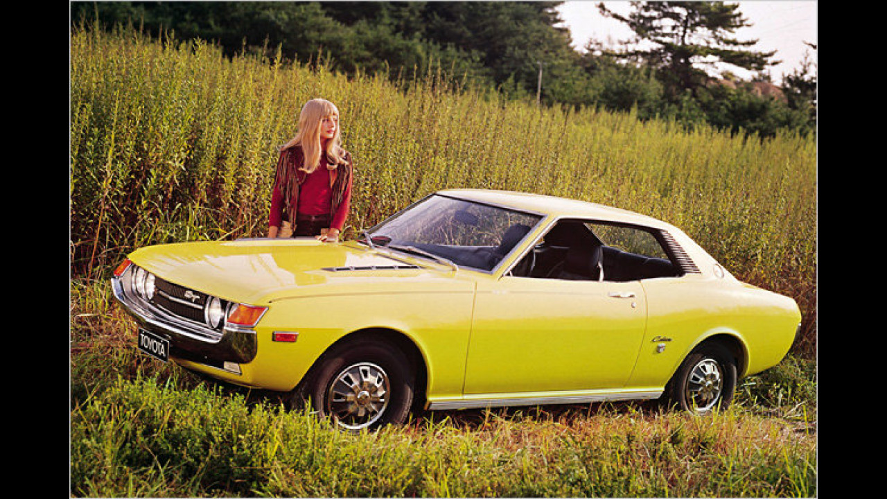 40 Jahre Toyota Celica