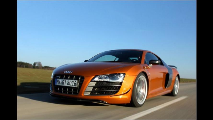 Der will Applaus: Audi R8 GT im Test