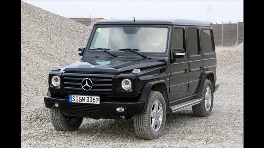Oldie mit neuester Technik: Der Mercedes G 500 im Test
