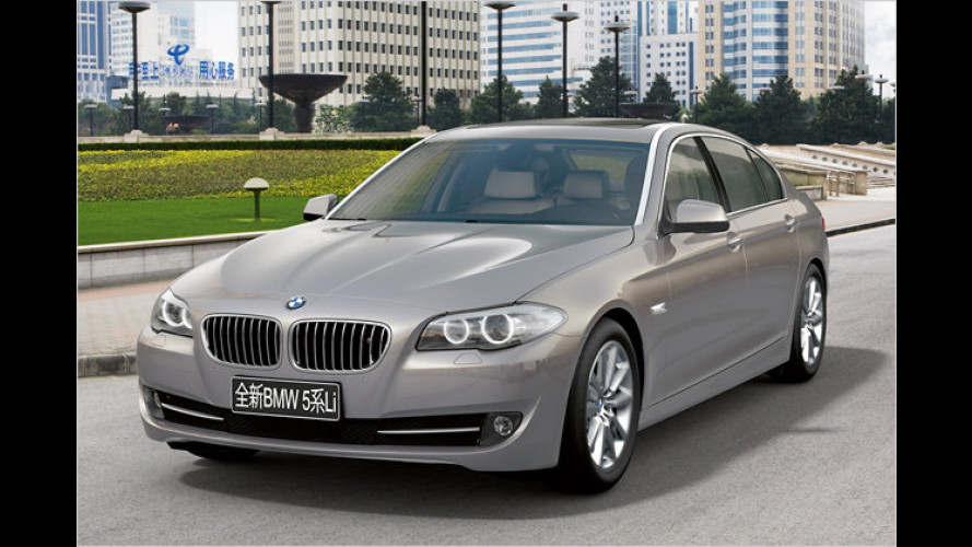 BMW 5er Langversion: Beinfreiheit für China!