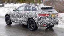 2018 Jaguar F-Pace SVR new spy photo