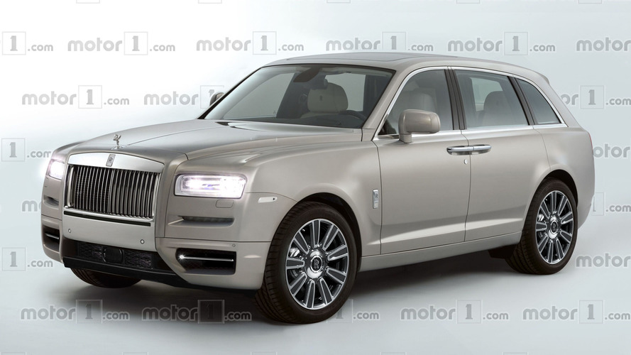 Rolls-Royce Cullinan rendered: still want that Bentayga?