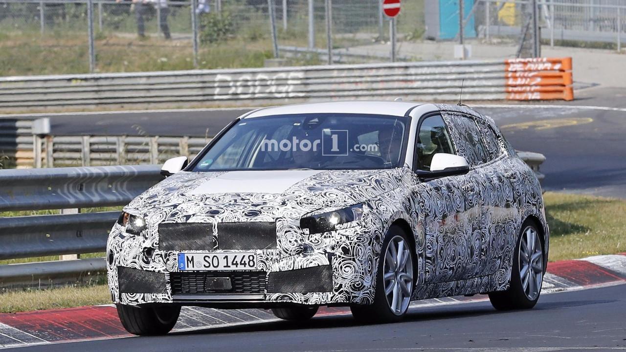 2019 BMW M140i spy photo