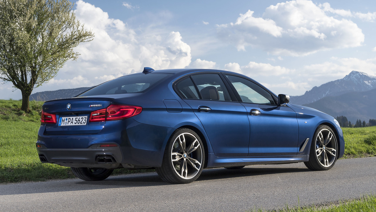 2018 Bmw M550i Xdrive First Drive Photo Gallery