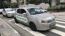 Fiat Argo - camuflado