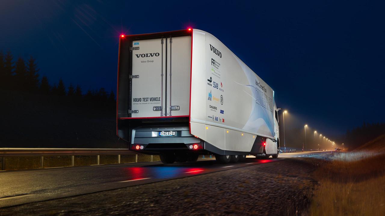 Volvo Concept Truck hibrit tır