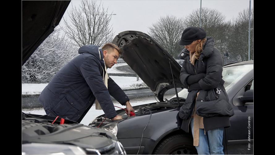 Keine leeren Batterien im Winter