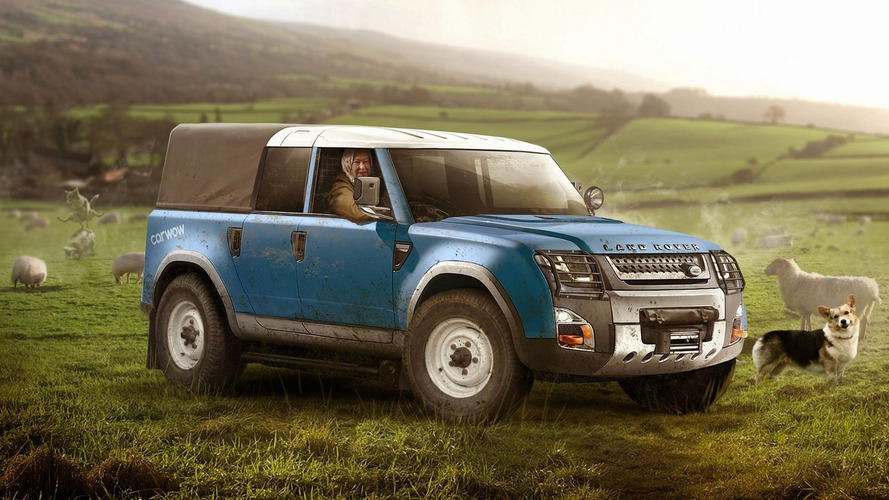 2019 Land Rover Defender rendered for various tasks