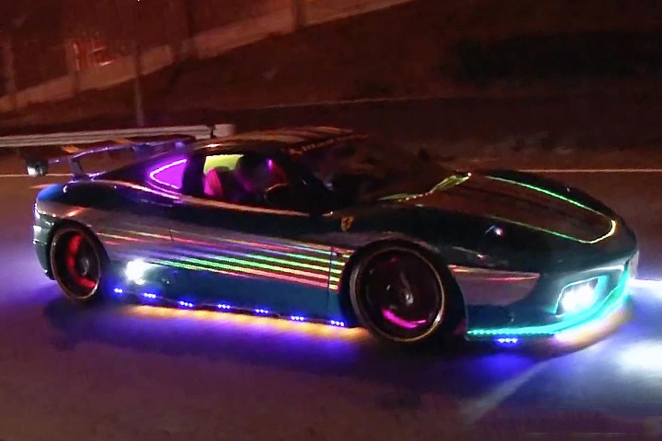 Watch This Head-Turning Ferrari Roar Through Tokyo