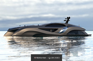 This Xhibitionist Yacht is a Supercar of the Sea