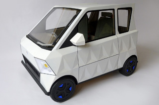 Product Tank Concept is a City Car for Octogenarians