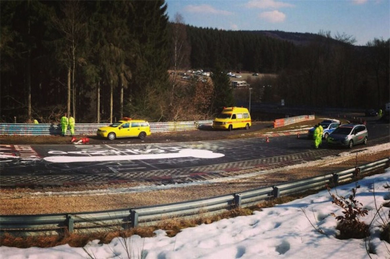 Penis Shuts Down the Nurburgring...Wait, What?!