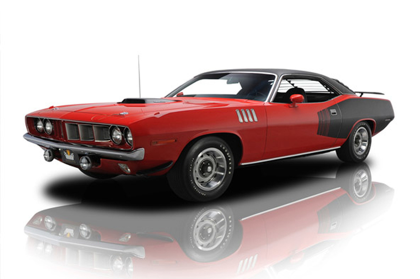 Is this 1971 Plymouth Barracuda Hemicuda on eBay worth $2.5Million?