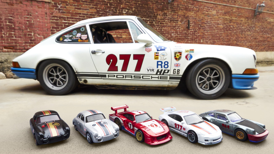 Hot Wheels debuts Porsche cars inspired by Magnus Walker