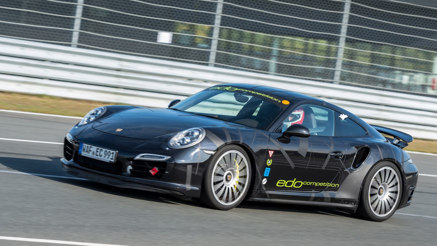 This is the fastest Porsche on the Sachsenring