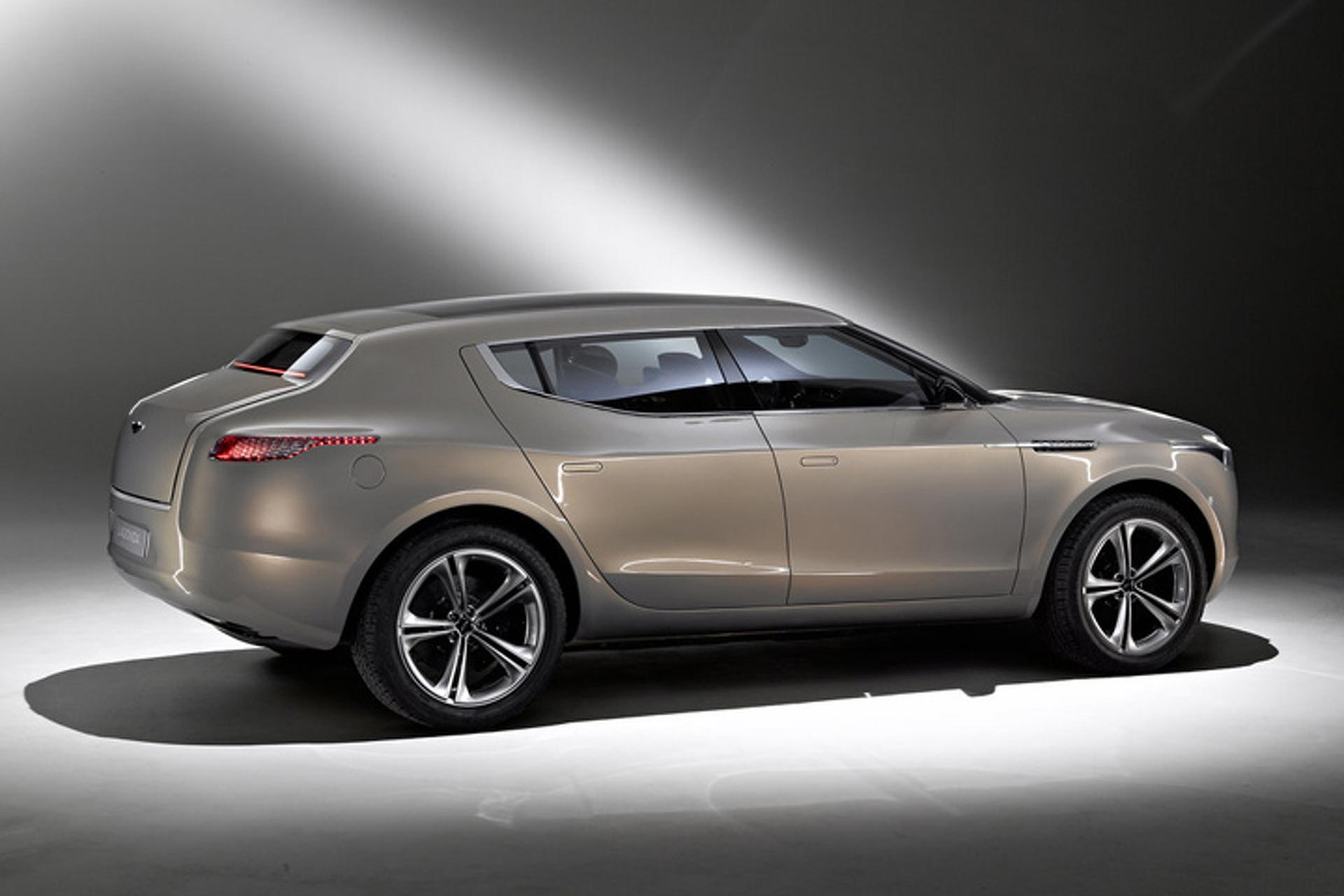 Aston Martin Drops the Lagonda SUV