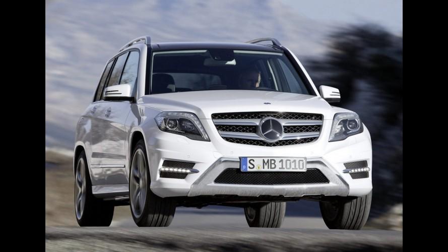 Mercedes-Benz planeja lançar crossover-cupê baseado no GLK em 2016