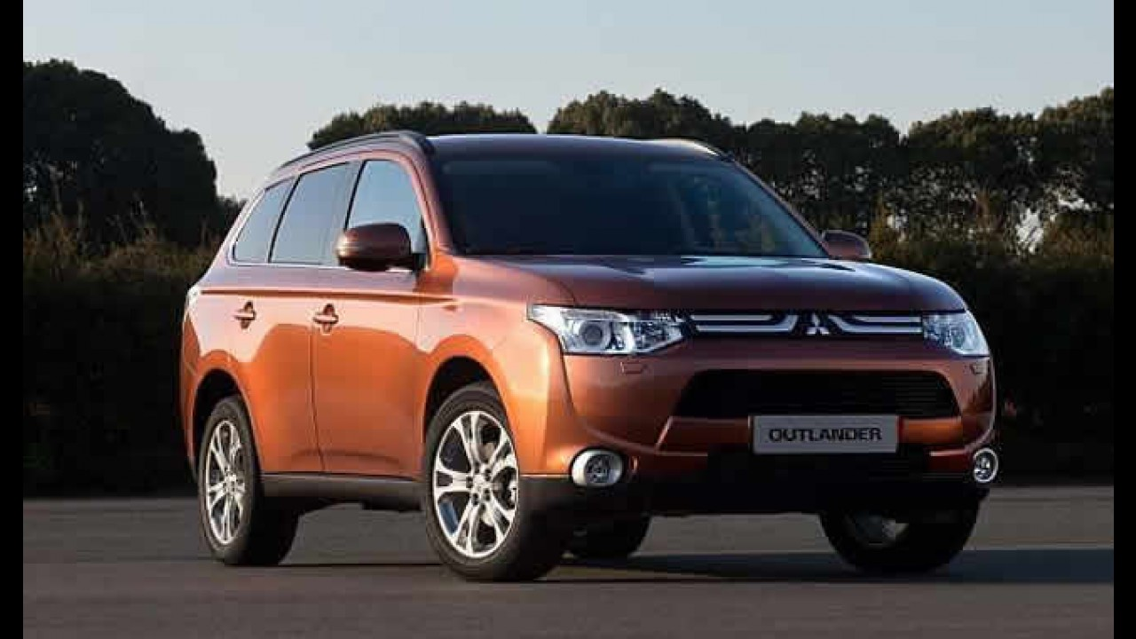Nova geração do Mitsubishi Outlander tem primeira imagem revelada