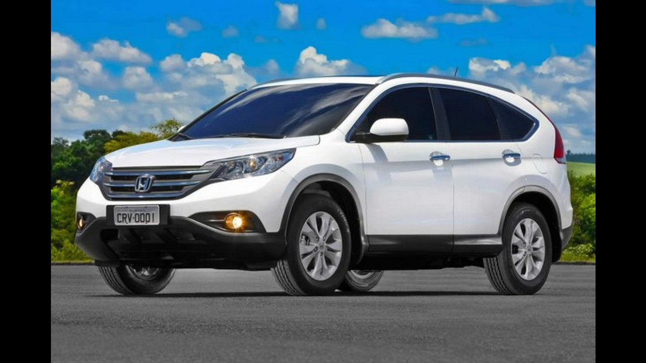 Recall: Honda convoca Accord, CR-V e Civic por problema no airbag
