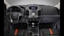 Nova Ford Ranger 2013: lista de equipamentos das versões XLT e Limited é revelada