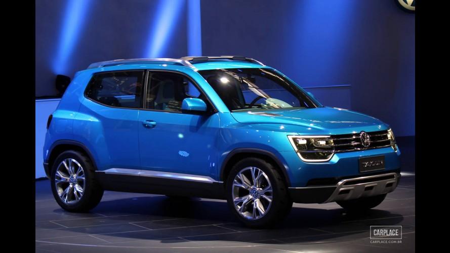 Salão do Automóvel: VW faz estreia mundial do conceito Taigun, que vai originar SUV compacto