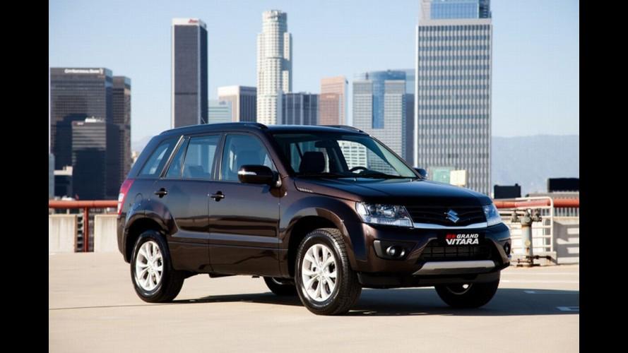 Salão de Moscou: Suzuki divulga novos detalhes e imagens oficiais do Grand Vitara 2013