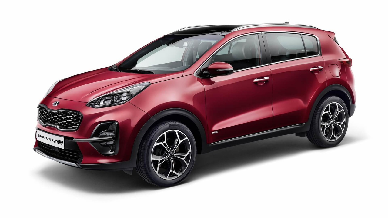 2019 Kia Sportage Facelift Motor1 Com Photos