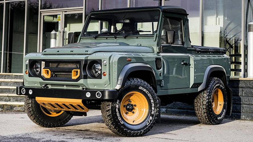 Land Rover Defender pick-up, por Kahn Design