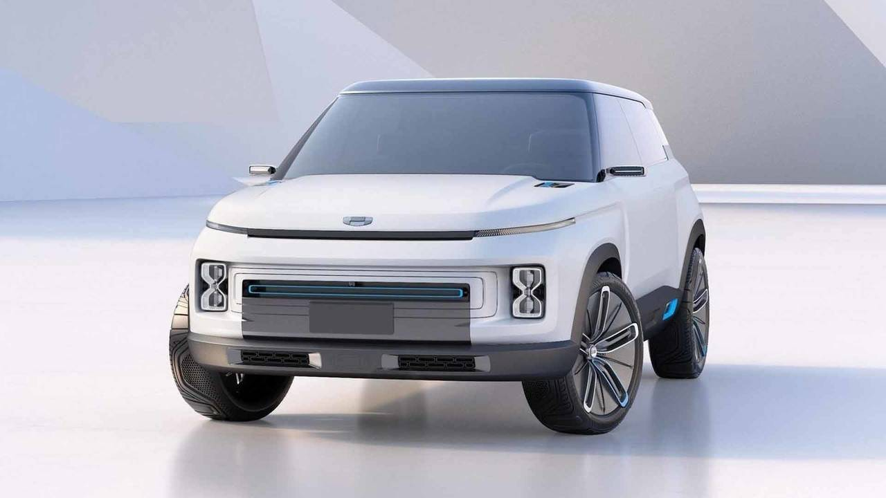 Geely Concept Icon SUV