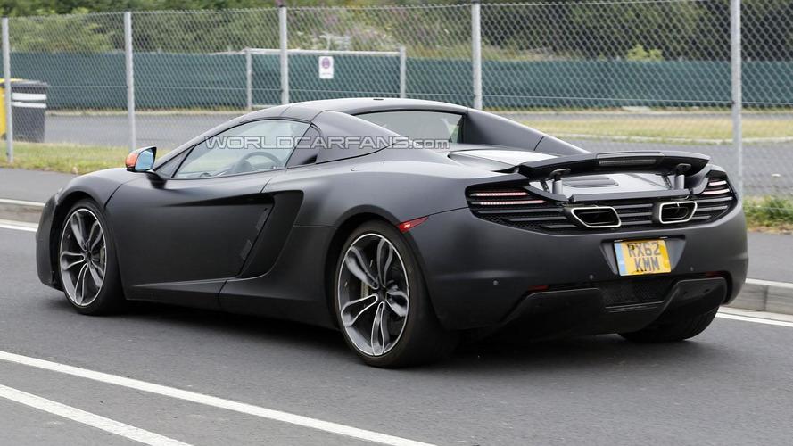 McLaren MP4-12C prototypes actually P13 mules - report