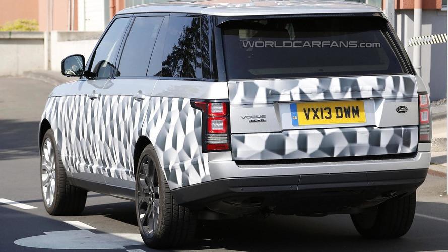 2014 Range Rover LWB spied again